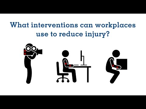 Preventing upper extremity injuries at work