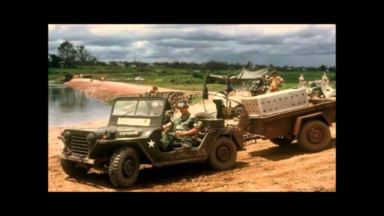 Jeep In Vietnam War Youtube