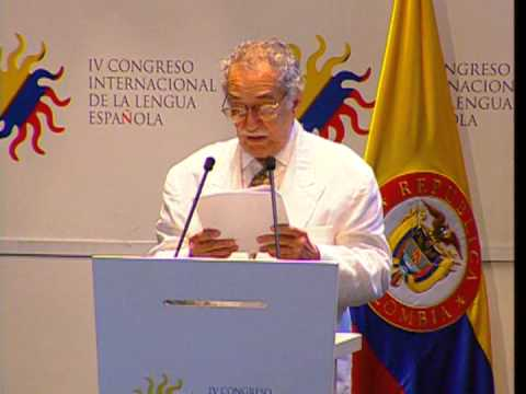 Gabriel García Marquez IV Congreso de la Lengua española Cartagena 2007