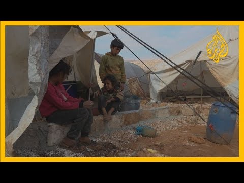 معاناة تشتد شتاءً.. مخيمات الحدود السورية التركية  - نشر قبل 8 ساعة