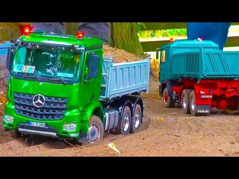 RC Trucks! RC Excavators! Rc Trac Loader! MB Arocs! MAN! Volvo! John Deere! ScaleART!