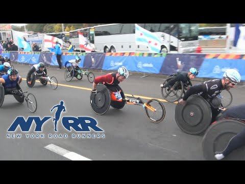 2015 TCS NYC Marathon Wheelchair Division from RUNNING National Broadcast Series
