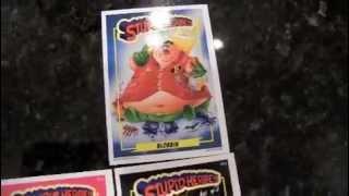Box Busters 2014 Wax Eye Stupidheroes trading cards