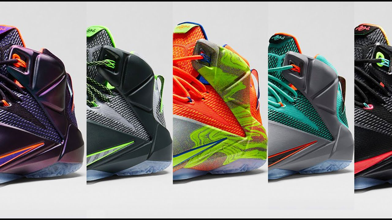 c74fef3684f LEBRON 12  The Story Behind the New Colorways - YouTube