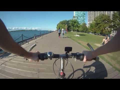 Ride 28: Bay/Bloor to lower Bay street.