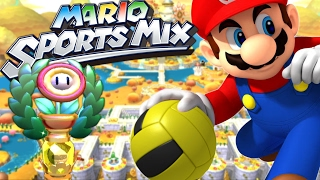 OBJECTIF COUPE FLEUR | MARIO SPORTS MIX DODGEBALL FR #1