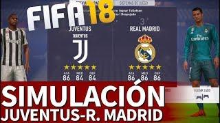 FIFA 18   Juventus-Real Madrid: Simulación de la ida de cuartos de Champions League   Diario AS