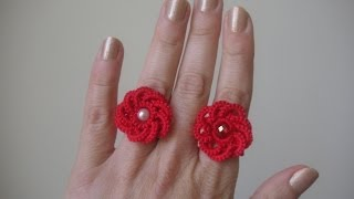 17' TUTORIAL ANELLO FACILE E VELOCE CHIACCHIERINO AD AGO CELTICO EASY RING NEEDLE TATTING CELTIC