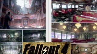 Fallout 4 Ловушки, Уличное освещение, Высокотехнологические Фонари