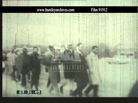 Selma to Montgomery marches, March 1965.  Archive film 91912