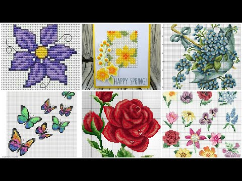 Stunning And Beautiful Cross Stitch Patterns For Every Thing