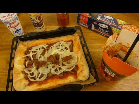 Döner Pizza (Knack & Back Pizza Kit - Cooking!)