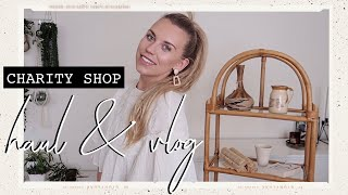 CHARITY SHOP HAUL   COME THRIFT WITH ME CLITHEROE LANCASHIRE