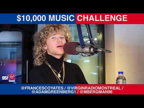 Francesco Yates plays the $10,000 Music Challenge