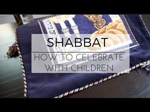 How To Celebrate Shabbat with Children