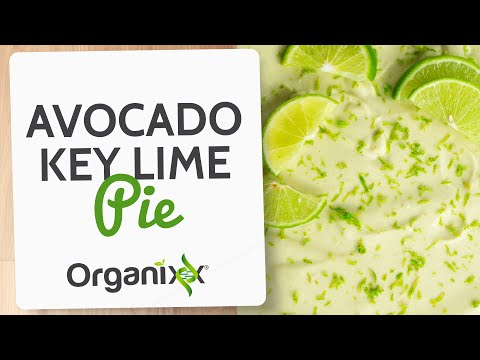 Avocado Key Lime Pie | Incredibly tasty raw dessert with healthy fats and oils | Easy Vegan dessert