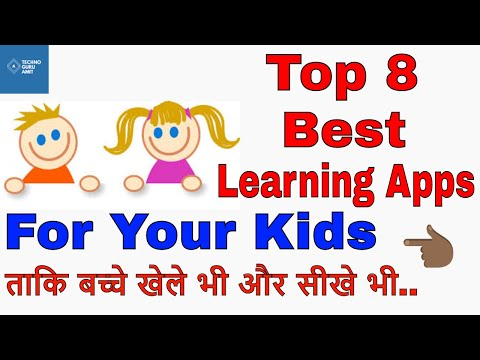Top 8 Best Educational Apps For Your Kids | Age 2-10 Years