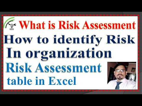Risk Assessment, What Is Risk & How To Make Risk Assessment Criteria Table In Excel