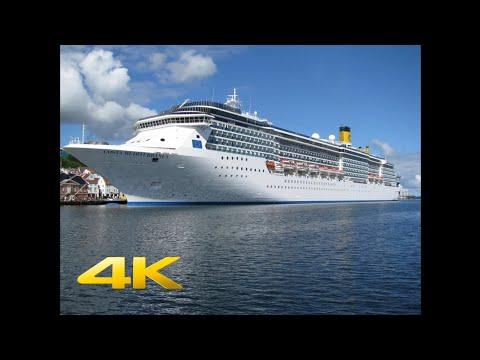 Costa Mediterranea Full Movie Ultra HD Greek Islands Santorini Mykonos Croatia Italia Ship Tour 4k