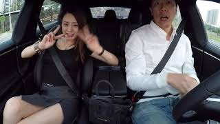 Tesla ModelS P100D ludicrous launch reaction-Naomi