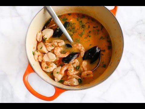 BOURRIDE French Fish Soup ♥ Chokolat Pimienta