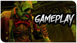 Dead By Daylight - The Clown Gameplay and Mori! (Father Campbell's Chapel Gameplay)