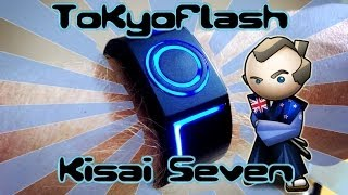 TokyoFlash Kisai Seven Unboxing 東京フラッシュジャパン LED時計