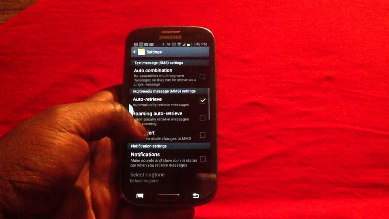 How to Stop SMS Messages from Converting to MMS on Samsung Galaxy S3