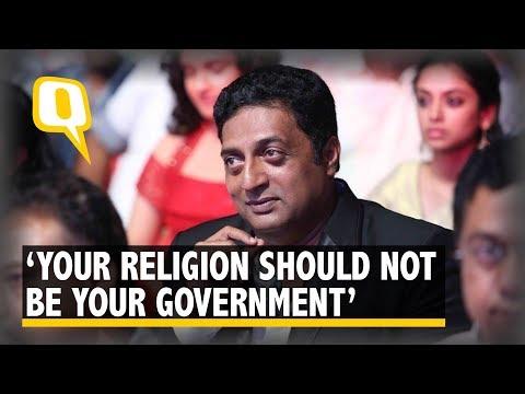 Separate Religion From Govt, or You Will Be Like Pak: Prakash Raj