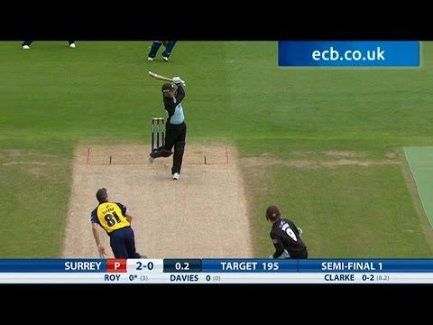 Jason Roy blasts 58 from 25 balls - Birmingham Bears v Surrey highlights