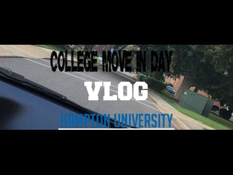 COLLEGE MOVE IN DAY| HAMPTON UNIVERSITY| NSO, DORM, AND GREEKS