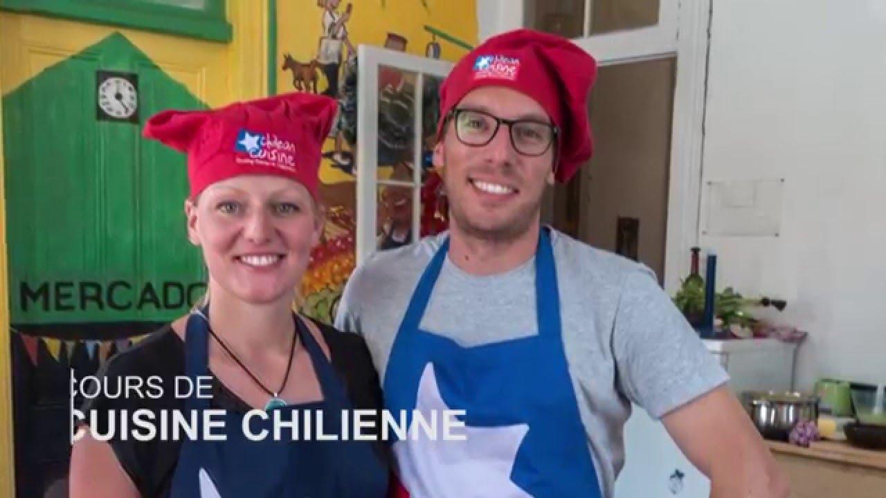 cours de cuisine chilienne - youtube - Cours De Cuisine Cap