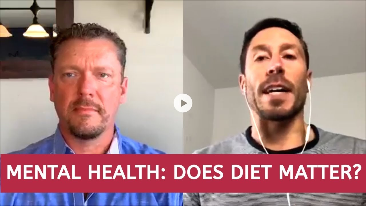 Depression / Anxiety: Does Your Diet Matter? 2 Doctors Discuss