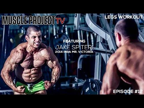 Legs with 2014 INBA Mr. Victoria Jake Spiteri - Muscle Project TV #12