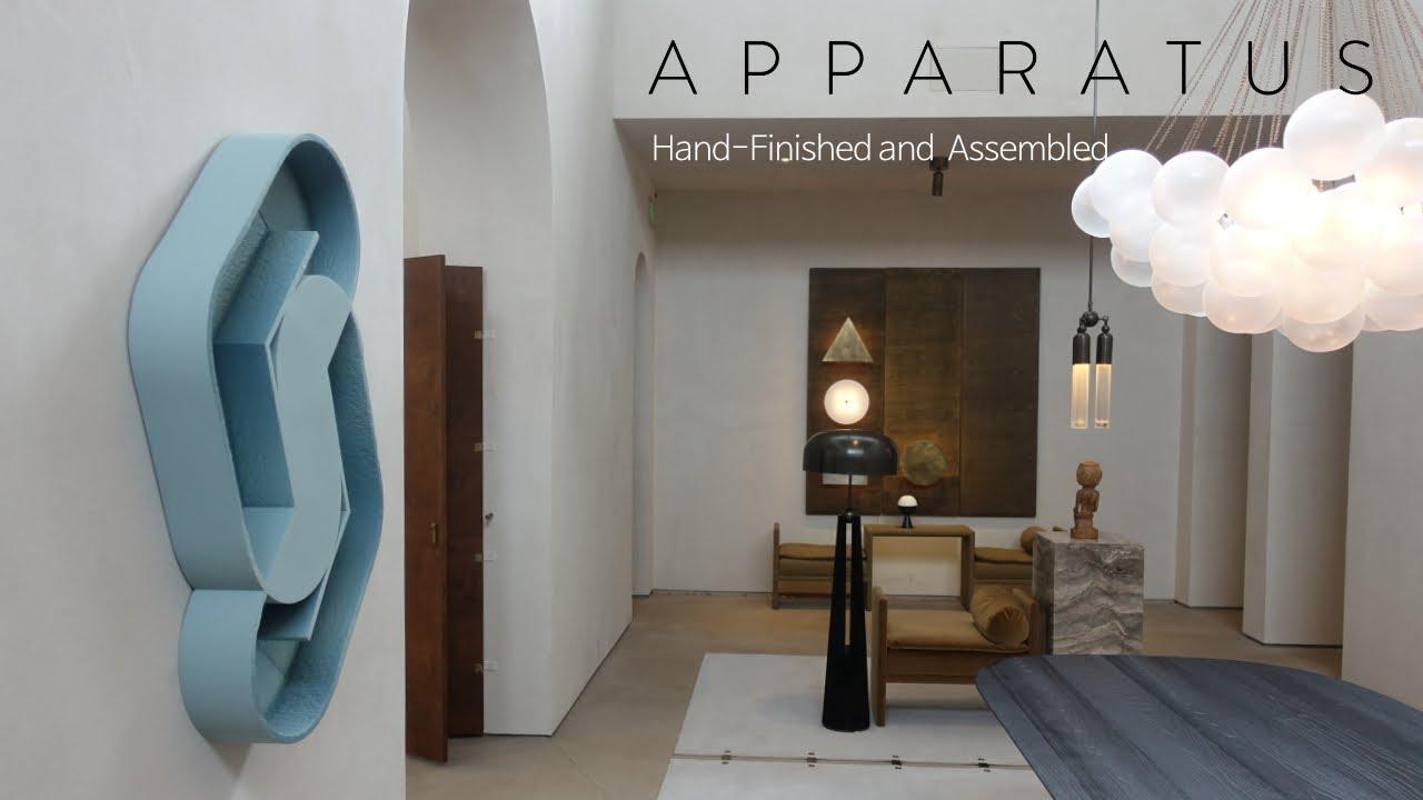 럭셔리 조명의 선두주자 APPARATUS 아파라투스 : 공간에서 존재감 발휘하는 조명