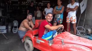 Inventos cubanos  MINI COCHE  con motor de moto  COCHES CUBA