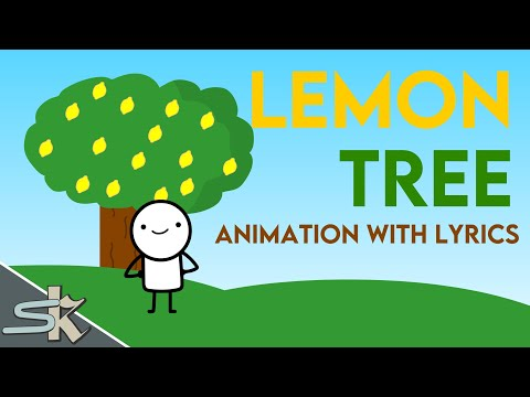 LEMON TREE ANIMATION WITH LYRICS