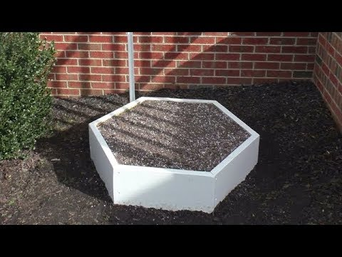 BUILD a RAISED GARDEN BED Container 6 Sided Wooden Hexagon how to Grow Vegetables