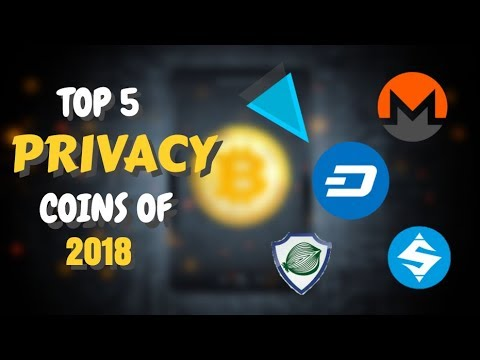 TOP 5 PRIVACY COINS of 2018 | WITH PRICE PREDICTIONS.