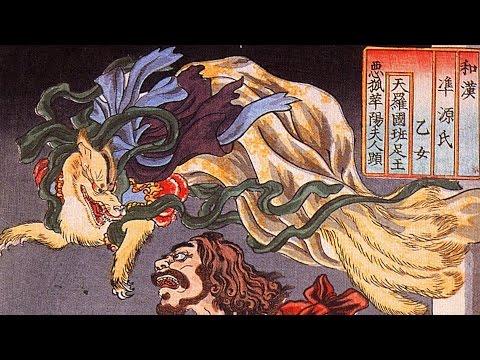 History of Kitsune Yokai: Many-Tailed Fox Demons!