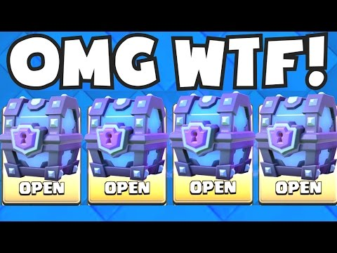 ALL SUPER MAGICAL CHESTS OPENING | CLASH ROYALE BEST AND WORST LEGENDARY CARDS UNLOCKED (BAD LUCK)