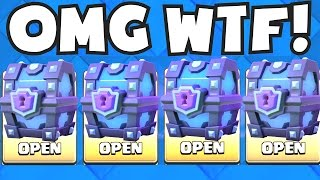 All Super Magical Chests Opening Clash Royale Best And Worst Legendary ...