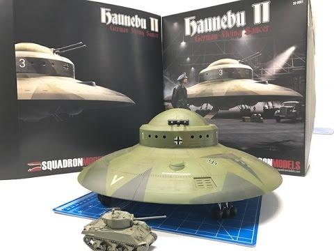 Building the New Squadron Models 1/72 Haunebu II  WWII UFO