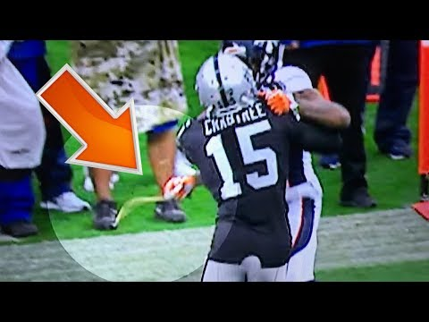 Aqib Talib vs Crabtree ROUND 2 CHAINZ