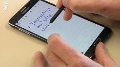 Samsung Galaxy Note 4: im Test Das Smartphone fürs Schreiben