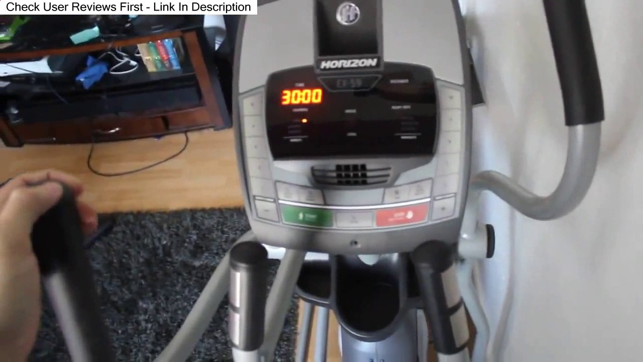 Horizon Fitness Ex 59 02 Elliptical Trainer Review 2017 Youtube