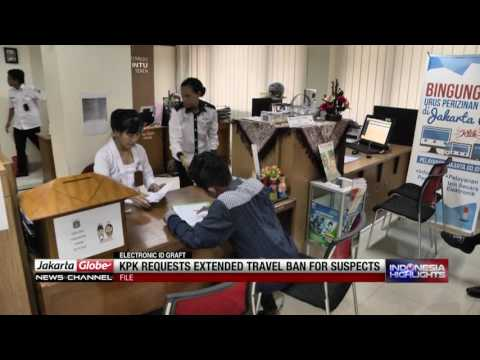 KPK to Request Extended Travel Bans for Electric ID Crad Graft Suspects, Key Witnesses