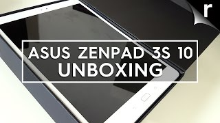 Asus ZenPad 3S 10 unboxing & first look review