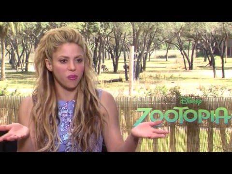 Shakira Zootopia / Zootropolis Interview
