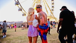 meet my coachella girlfriend..